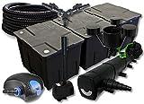 SunSun Kit Filtro Estanque 90000l 72W clarificador 100W Bomba 25m Manguera Skimmer Fuente Jardin
