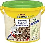 Sera - Alimento Completo Koi Royal Mini (2 mm) para el Desarrollo óptimo de Peces Koi hasta 12 cm, con prebióticos para un Mejor aprovechamiento del alimento, Menor Carga de Agua y Menos Algas