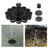 AOFENG 1.4 W Solar Fuentes, Recipiente de Bengala Brunnen - Bomba Solar para Estanque, Pescado, Jardín Bomba Agua Parte Decoración, Type D