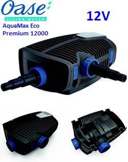 Bomba para estanque Oase AquaMax Eco Premium 12000 12V