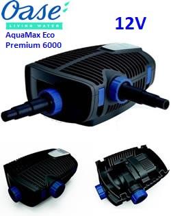 Bomba para estanque Oase AquaMax Eco Premium 6000 12V
