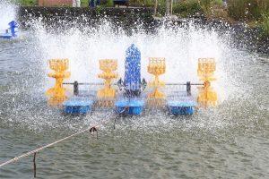 Aireador de paletas para estanque