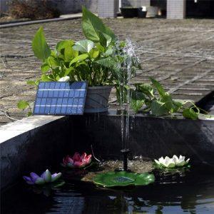 placa solar con bomba para estanques baratos kit